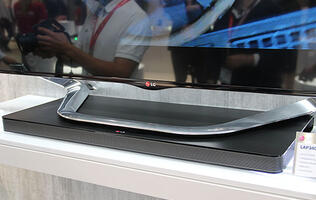 LG Sound Plate is a Flattened Sound Bar You Can Put Your TV On