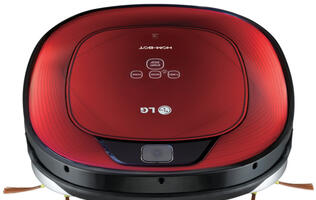 LG's Square Hom-Bot Optimizes Corner Cleaning