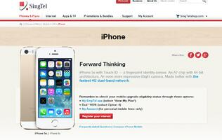 SingTel Registration of Interest for new iPhones Now Available (Update!)