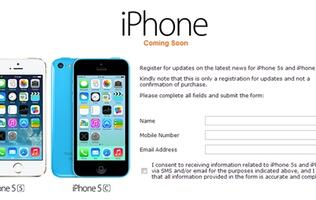 M1 Commences Register for Interest for Apple iPhone 5S and 5C