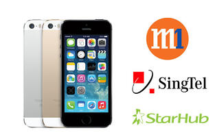 Apple iPhone 5S and 5C Telco Price Plans Comparison