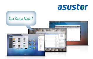 ASUStor Launches Live Demo Site for ADM 2.0