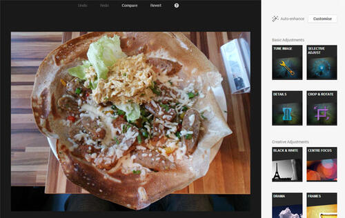 Google+ Gets Snapseed Powered Photo Editing Tools