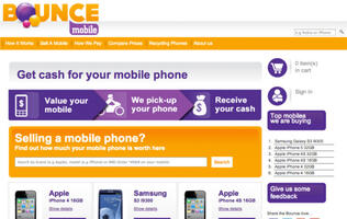 Bounce Mobile Debuts Singapore's First Online Mobile Phone Trade-in Service
