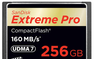 SanDisk Announces 'World's First' 256GB CF Card