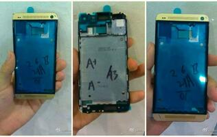Leaked Images Show Gold HTC One Housing