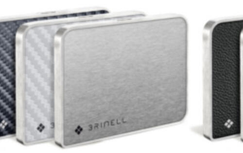 Brinell's New External SSDs Come in Seven Material Options
