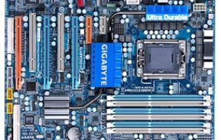 First Looks: Gigabyte EX58-UD4P