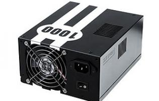 First Looks: Antec TruePower Quattro 1000W PSU