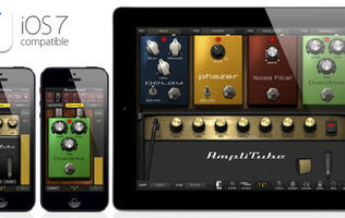 IK Multimedia Announces Latest AmpliTube App with iOS 7 Support