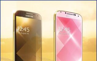 Gold Edition Samsung Galaxy S4 Spotted
