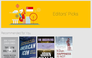 Google Books Now Available in Singapore
