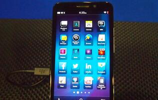 A feature on BlackBerry Z30
