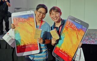 Samsung Galaxy Note 3 Arrives with Much Fanfare