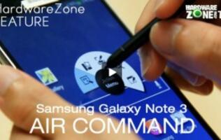 Samsung Galaxy Note 3 - Air Command Feature