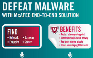 McAfee Comprehensive Threat Protection Allows Organizations to Find, Freeze, and Fix Advanced Malware Threats