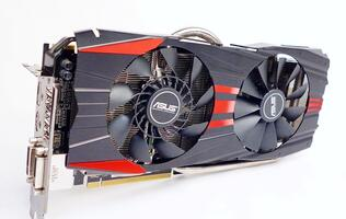ASUS Radeon R9 280X DirectCU II TOP 3GB GDDR5 - Overclocking Required