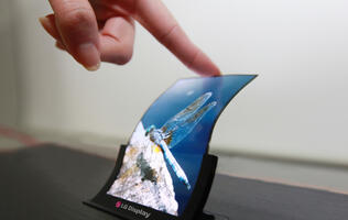 LG to Mass-Produce Flexible OLED Smartphone Displays