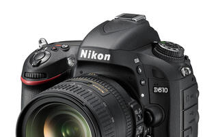Nikon Announces New D610 Full-Frame DSLR Camera with Faster Shooting Speeds (Updated)