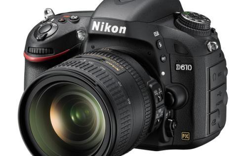 Nikon Announces New D610 Full-Frame DSLR Camera with Faster