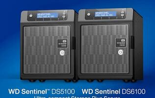 WD Refreshes Sentinel S-Series with Intel Xeon-Based Compact Servers