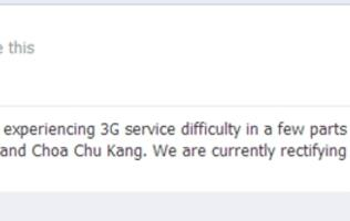 3G Service Down for Some M1 Customers Earlier This Morning (Update)