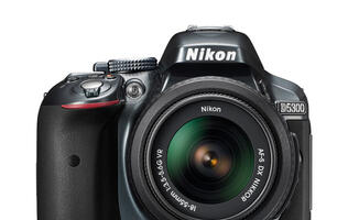 Nikon's New D5300 DSLR Adds Wi-Fi & GPS and Removes AA Filter