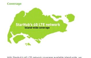 StarHub's 4G LTE Network Reaches Nationwide Coverage