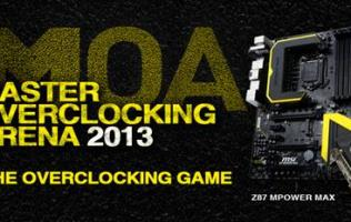 MSI Master Overclocking Arena 2013 - Breaking World Records