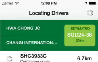 GrabTaxi, Region's Largest Taxi-booking Mobile App, Beta Launches in Singapore