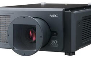 NEC Launches Digital Cinema Projector with Laser Light Source