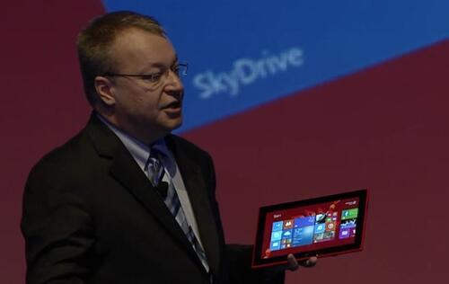 Nokia Announces its First Windows Tablet, the Lumia 2520
