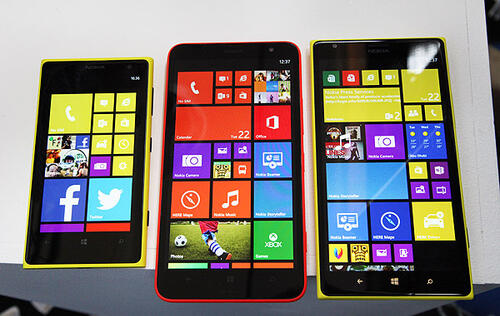 First Looks at the New Nokia Lumia 1520 and 1320