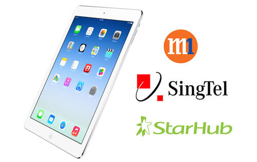 Apple iPad Air Telco Price Plans Comparison