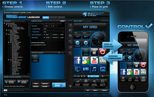 Roccat Power-Grid App Transforms Your Smartphone into a PC and Game Remote Control