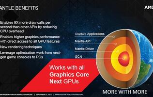 AMD's Mantle Graphics API Adopted by Three More Game Developers