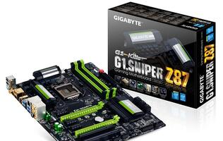Gigabyte Launches G1.Sniper Z87 Motherboard