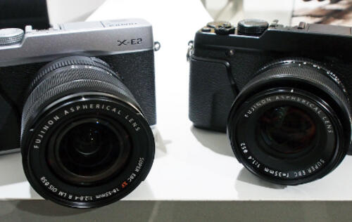 Hands-on with the Fujifilm X-E2 and XQ1 Cameras