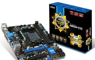 MSI Announces Full Range of AMD FM2+ Motherboards with Military Class IV Components
