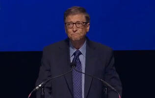 Watch This: Bill Gates Chokes Up on Stage as He Talks About Search for New CEO