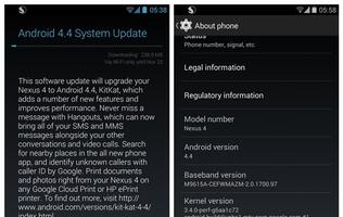 Android 4.4 KitKat Update Available for LG Nexus 4