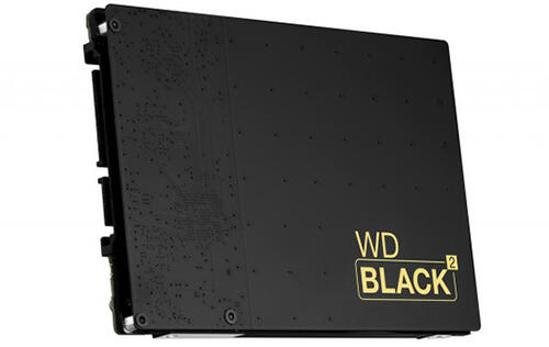Western Digital Announces World's First SSD+HDD Dual Drive