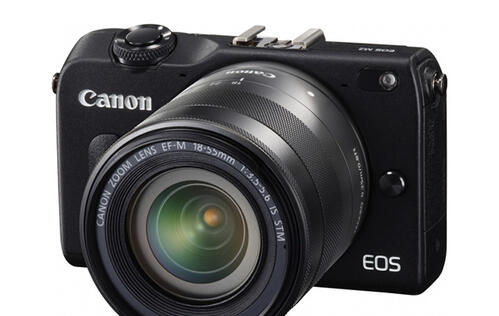 Canon Announces EOS M2 with New 2.3x Faster Auto-Focus