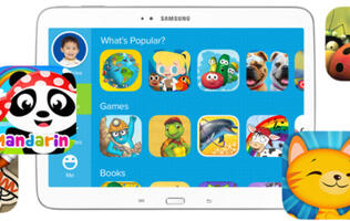 Samsung and Fingerprint Partner to Develop Mobile Play and Learn Network for Kids