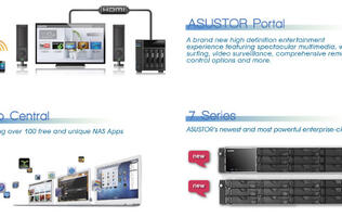 ASUStor to Showcase Full Range of NAS Devices at CES 2014