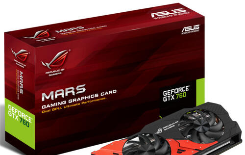 ASUS ROG Announces Mars 760 Graphics Card