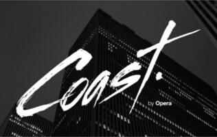 Coast by Opera for the iPad Now Optimized for Touch and Gesture