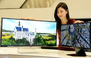 LG to Flaunt World's Largest 21:9 Monitor at CES 2014