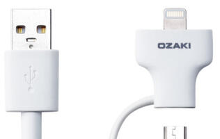 Ozaki O!tool Combo Cable Reduces Clutter
