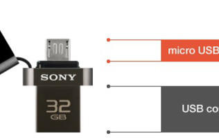 Sony, Strontium Announce USB OTG Drives for Smartphones and Tablets